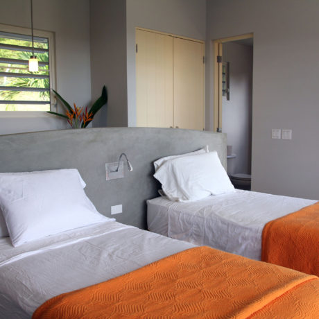 Guest bedroom at Casa Angular, a Vieques vacation rental villa