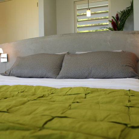 Master bedroom at Casa Angular, a Vieques villa rental in Puerto Rico