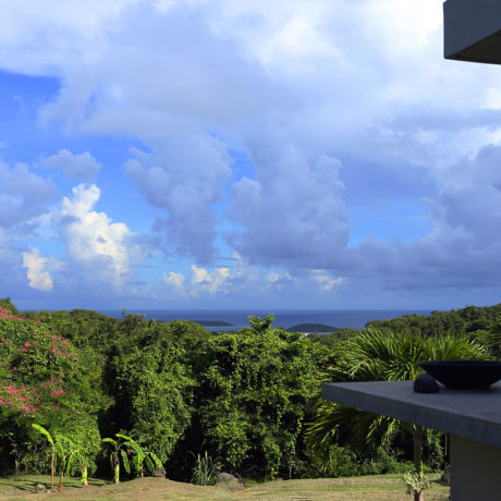 Vieques view of the Caribbean from Casa Angular, vacation rental villa