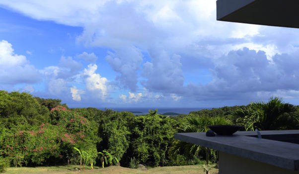 Vieques view of the Caribbean